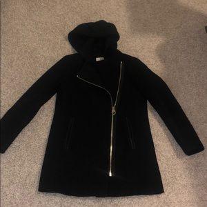 Black Calvin Klein Pea coat